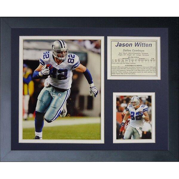 Jason Witten Framed Memorabilia by Legends Never Die