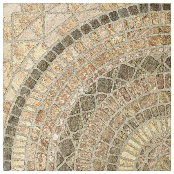 Tierra 17.75 x 17.75 Ceramic Field Tile in Beige/Brown by EliteTile