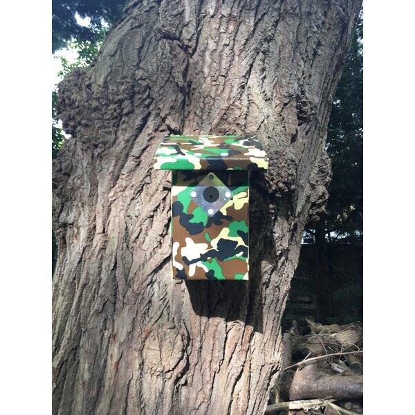 Army 12 in x 6 in x 5.5 in Birdhouse by Pop-Up Garden