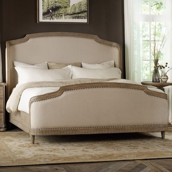 Corsica Upholstered Standard Bed by Hooker Furniture