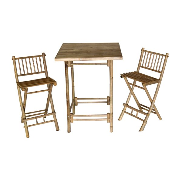 Arbordale 3 Piece Bistro Set by Bay Isle Home