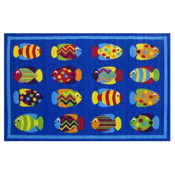 Fun Time Fish Tank Blue Area Rug by Fun Rugs