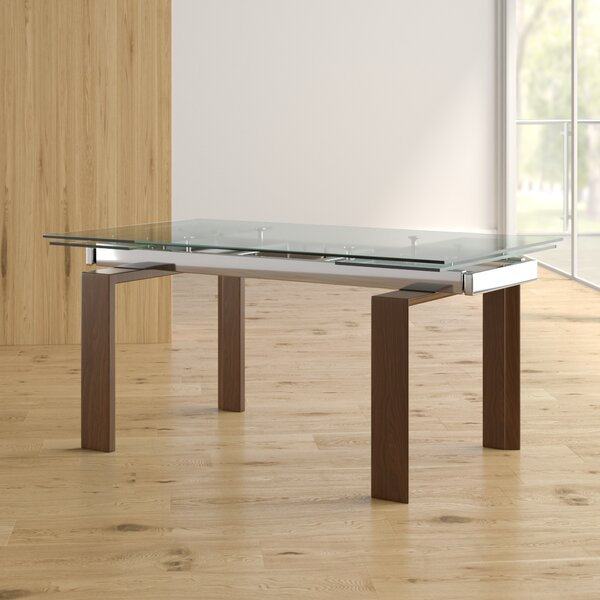 Lolita Extendable Dining Table by Latitude Run