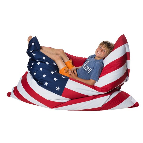 USA Bean Bag Lounger by HRH Designs