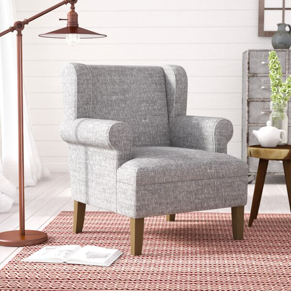Meade Emerson Wingback Chair by Laurel Foundry Modern Farmhouse