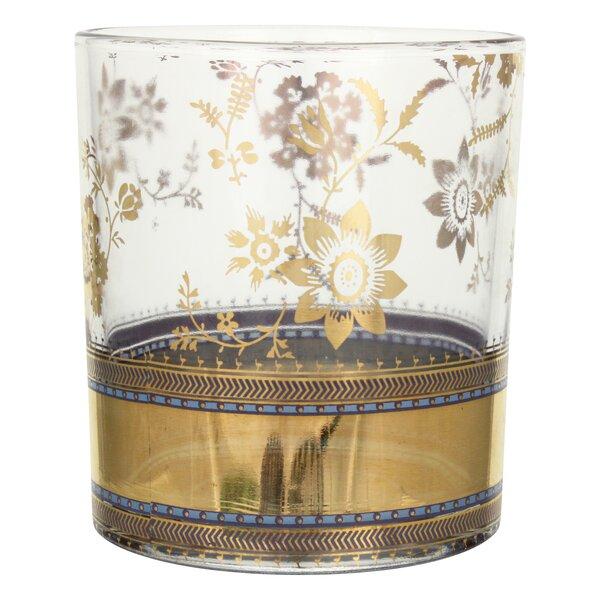 Patina Vie Metallic Lace Cocktail Glass (Set of 4) by Patina Vie