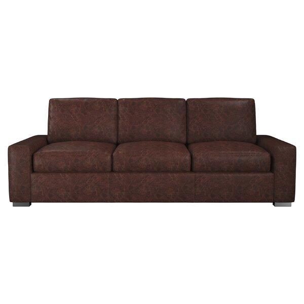 Howard Leather Sofa by Westland and Birch