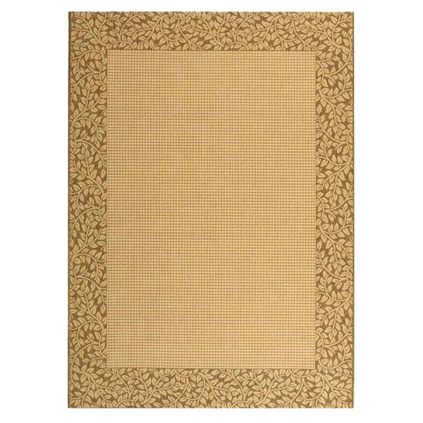 Lippold Brown/Tan Outdoor Area Rug by Charlton Home