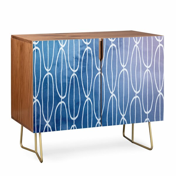Lara Abstract Sounds 2 Door Accent Cabinet By East Urban Home