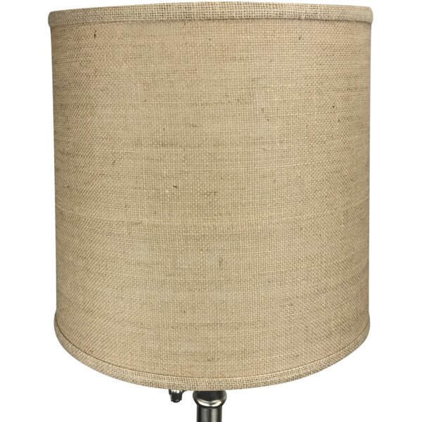 13 Burlap Drum Lamp Shade by Fenchel Shades