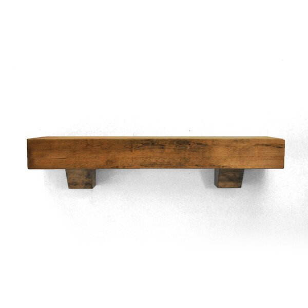Farmhouse Fireplace Mantel Shelf by Dogberry Collections