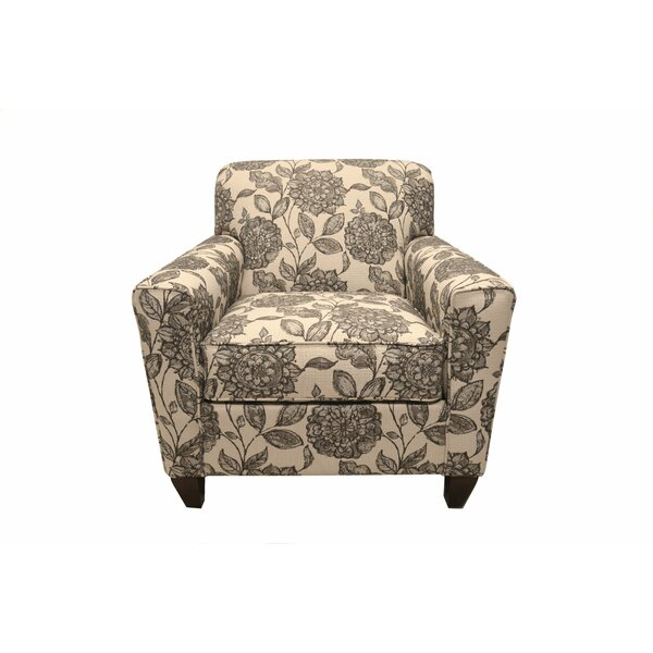 Blasingame Floral Armchair by Darby Home Co