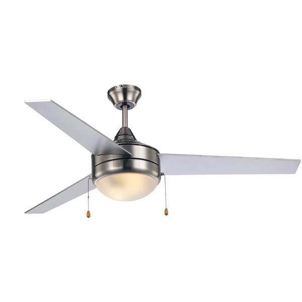 52 Everson 3 Blade Ceiling Fan by Ebern Designs