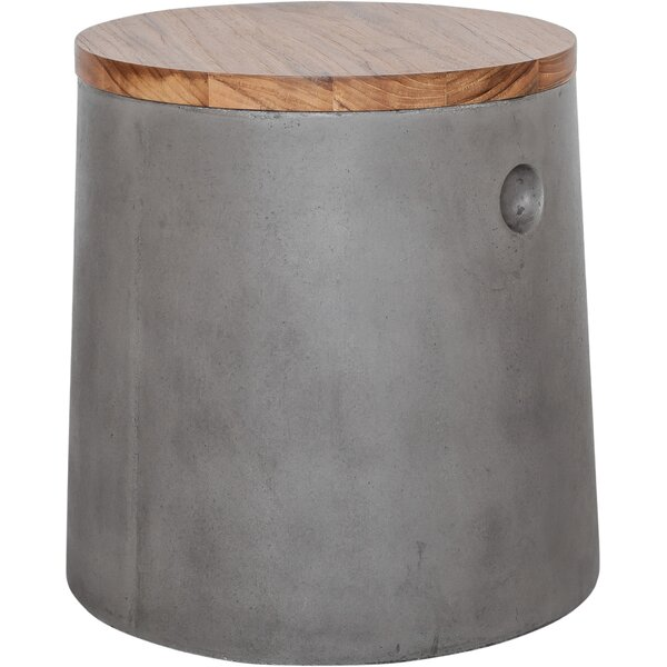 Etta Accent Stool by 17 Stories