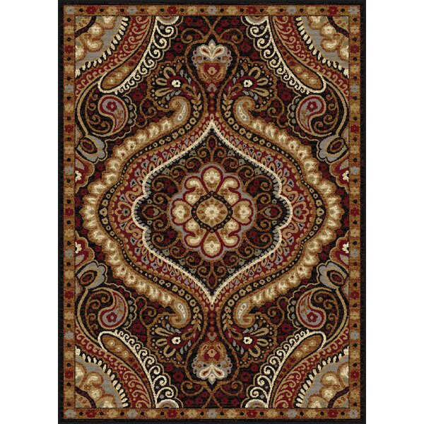 Monterey Brown/Red Area Rug by Threadbind