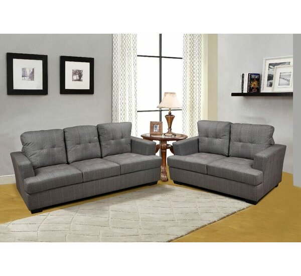 Declan 3 Piece Living Room Set by Beverly Fine Furniture