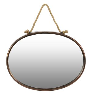 Urban Trends Oval Wall Mirror