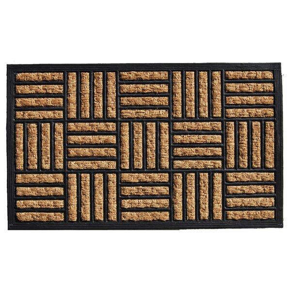 Pearlene Border Doormat by Red Barrel Studio
