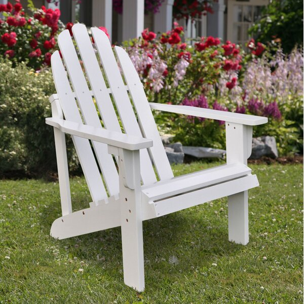 Diredra Solid Wood Adirondack Chair by Beachcrest Home