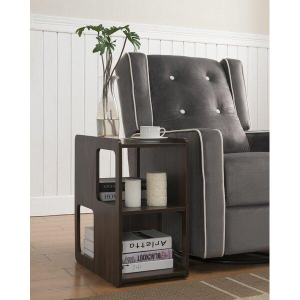 Jorja End Table With Storage By Ebern Designs