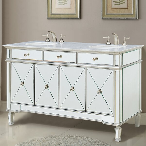 Jiya 60 Double Bathroom Vanity Set by Willa Arlo I