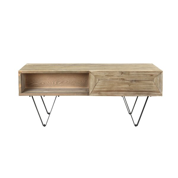 Najera Coffee Table with Storage by Williston Forge