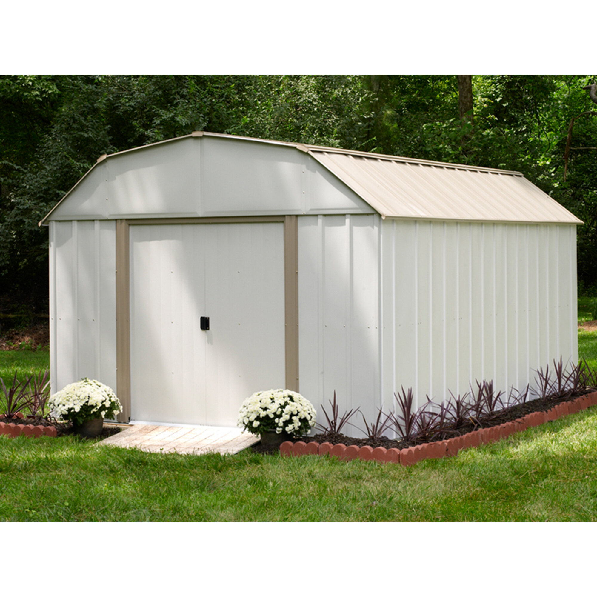 X 13 5 Ft D Metal Storage Shed