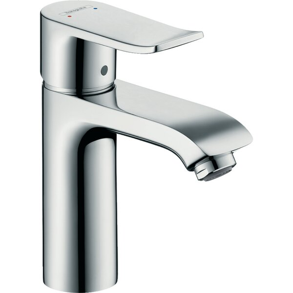 Metris Single Hole Bathroom Faucet with Drain Assembly