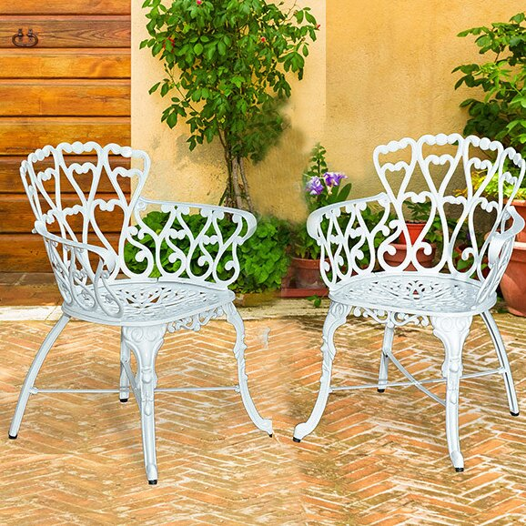 Victorian Patio Dining Chair (Set of 2) by Pier Surplus