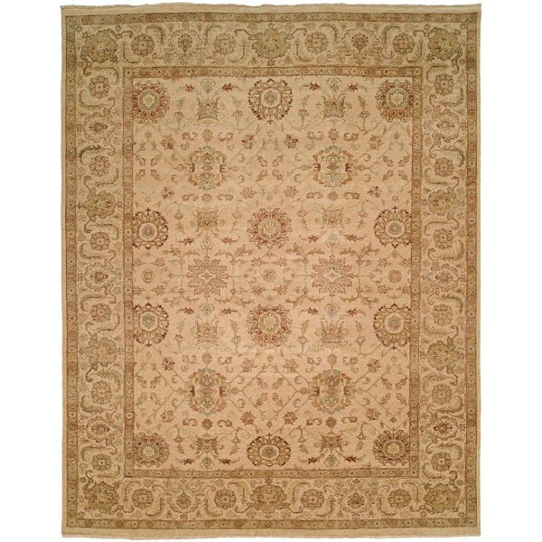 Mcgee Hand Knotted Wool Ivory Area Rug by Astoria Grand