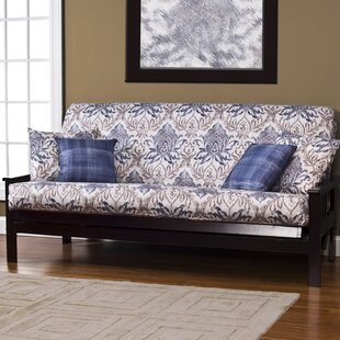Arlberg Zipper Box Cushion Futon Slipcover Darby Home Co