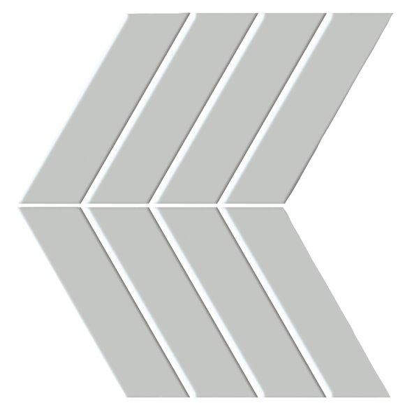 Shape 4.5 x 6.5 Porcelain Mosaic Tile in Gray by Emser Tile