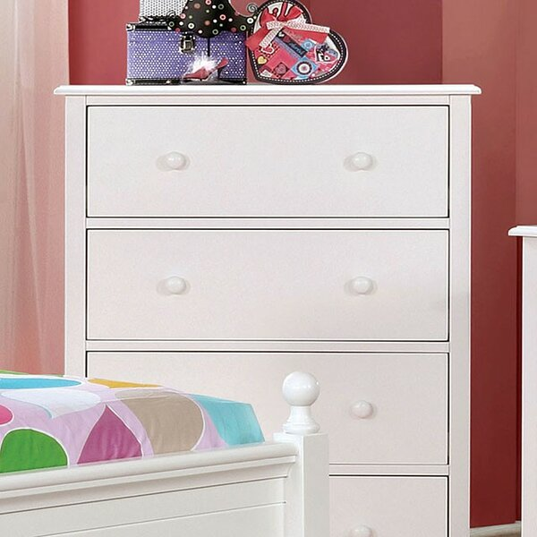 Saldivar 4 Drawer Chest by Harriet Bee
