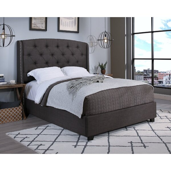 Chenery Upholstered Platform Bed by Darby Home Co