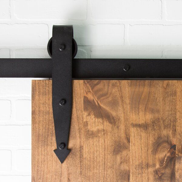 Arrow Sliding Barn Door Hardware by Artisan Hardware
