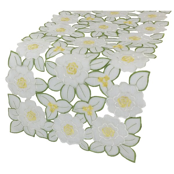 Dainty Flowers Table Runner by Xia Home Fashions