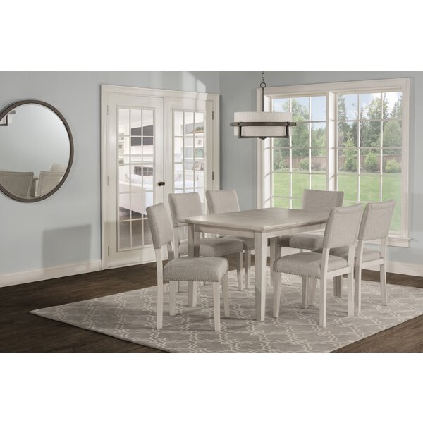 Jill 7 Extendable Piece Dining Set by House of Hampton