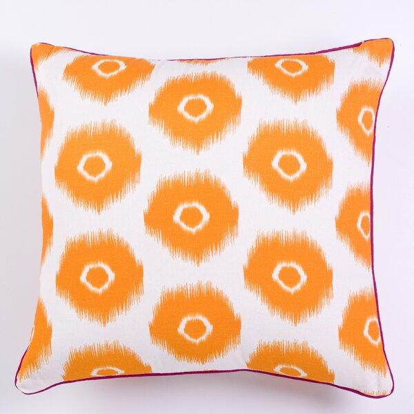 Vibrant Ikat Indoor/Outdoor Throw Pillow