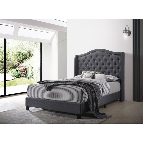 Rickey Upholstered Standard Bed by House of Hampton