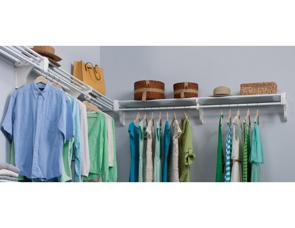EZ SHELF From Tube Technology Closet System Wall Shelf U0026 Reviews | Wayfair