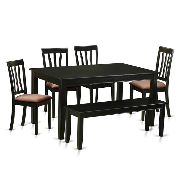 Dudley 6 Piece Dining Set By Wooden Importers by Wooden Importers Coupon