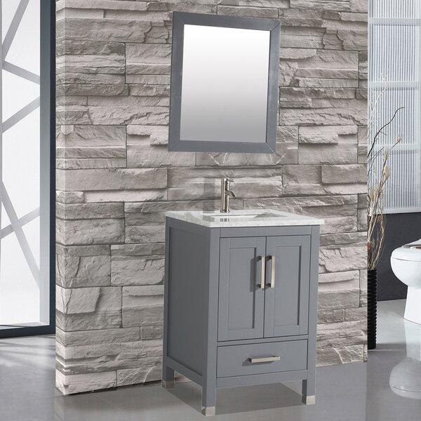 Denault 24 Single Sink Bathroom Vanity by Brayden Studio