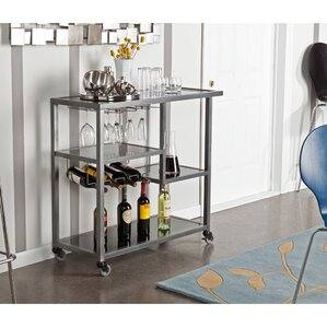 Aguila Bar Cart by Mercury Row