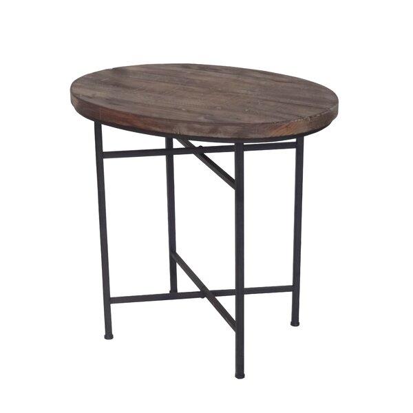 Downard Wooden End Table by Gracie Oaks