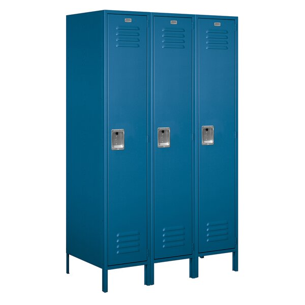 1 Tier 3 Wide School Locker by Salsbury Industries