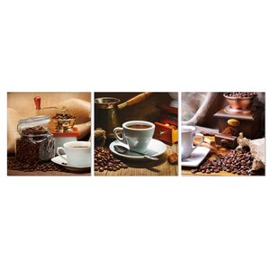 Cup of Coffee 3 Piece Photographic Print Set by Furinno