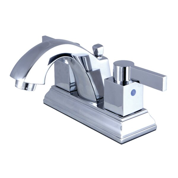Meridian Centerset Bathroom Faucet with Drain Assembly by Kingston Brass