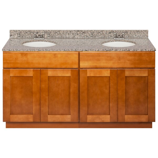 Strawn 60 Double Bathroom Vanity Set by Winston Porter