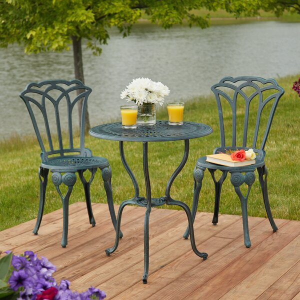 Haverstraw 3 Piece Bistro Set by Ophelia & Co.
