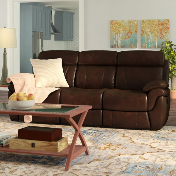 Caswell Genuine Leather Reclining 88.13